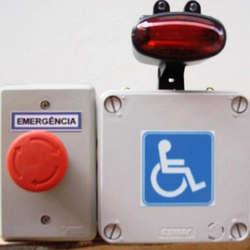 Alarmes para banheiro de deficiente