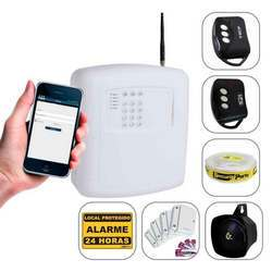 Alarme residencial via celular