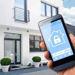 Alarmes residenciais via celular