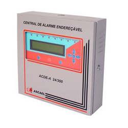 Centrais de alarmes contra incêndio