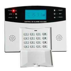 Central de alarme residencial