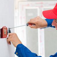 Manutenção em sistemas de alarmes de incêndio