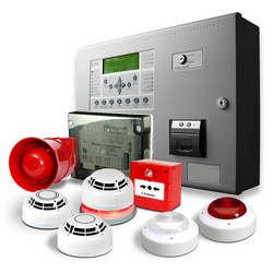 Sistemas de alarmes e detecção de incêndio